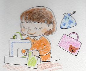 【4月】 みずきっこ手芸部