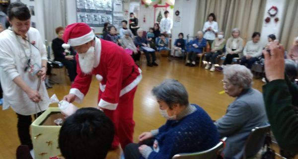 【北町高齢者センター】クリスマス会