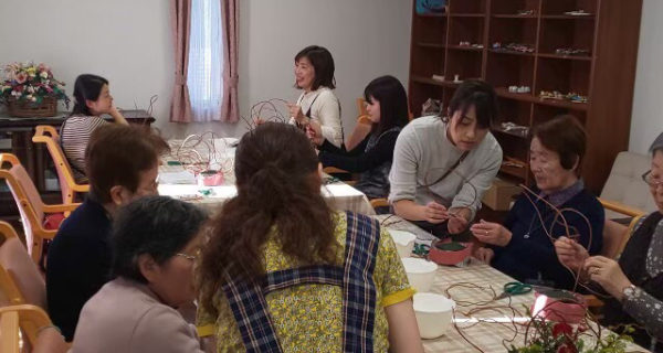 【2/18】交流イベント<冬の華道交流>